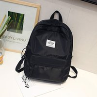 ingrosso cartone campus-Oxford Harajuku Girls School Bags Zaino Studente donna Schoobag Campus College Wind Satchel Bookbag 2019 Spring Summer Bagpack