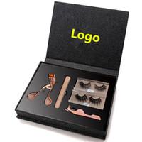 Wholesale customs labels resale online - eyelash case custom eyelash box packaging private label lash box
