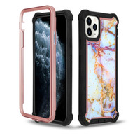Wholesale beautiful design phone online – custom Newest Hard Plastic Soft TPU Shinny Protective Phone Case with Beautiful Marble Designs For LG Stylo Aristo G8 Thinq