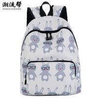 Wholesale cute college bag style for sale - Group buy Cute Cartoon Backpack Fashion New College Students And Middle School Students Shoulder Bag