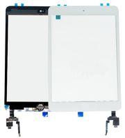 ipad mini lentes venda por atacado-Chegada nova Digitador Da Tela de Toque com IC com Botão de Home 3 M Adesiva Outer Vidro Substituição Do Painel de Montagem de lente Para iPad Mini 3