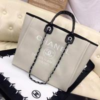 canais sacos venda por atacado-Senhora bolsa bolsa de luxo bolsa para mulher bonita designer de bolsas bolsas de designer americano europeu barato canais pretos bolsa