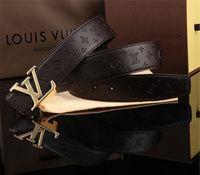 correas de cinturón para hebilla de plata. al por mayor-Caliente de alta calidad de cuero genuino de los hombres y la mujer de la correa ocasional de la marca de diseño de oro plata negro hebilla cinturones masculinos correa Ceintures RT-120