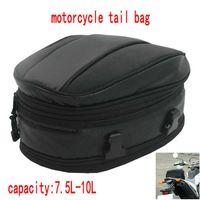 motosiklet arka koltuk örtüsü toptan satış-Sıcak satış volero motosiklet kuyruk çanta 9018 sürüm motosiklet aracı arka koltuk çanta moto arka koltuk çanta su geçirmez kapak 7.5-10L