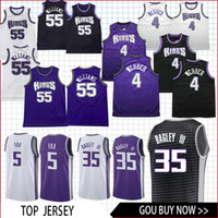 Wholesale fox clothing online - Sacramento Jersey King Bagley III Williams Webber De Aaron Fox basketball Jersey men fans clothes