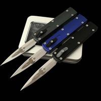 cuchillos tecnicos al por mayor-Automática MT 85 UTX cuchillo de doble acción táctica D de diseño de cohetes cuchillos Zulu Micro Tech Navaja de aluminio manejar herramientas automático EDC