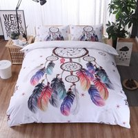 Wholesale dreams bedding resale online - Yimeis Single Bedding Set Modern Comforter Bedding Sets Queen Dream Catcher Bed Sheets And Pillowcases