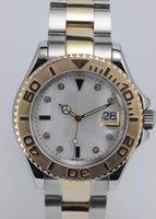 marcas suizas relojes deportivos al por mayor-Venta al por mayor para mujer de lujo de la marca suiza reloj de dama diseño cara cara dos tonos mujeres mecánico automático mujer dama reloj deportivo para niñas