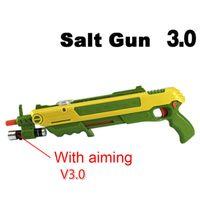 ingrosso vendita giocattoli robot-12type Hot Gift Bug A Salt Fly Gun Sale e Pepper Bullets Blaster Airsoft per Bug Blow Gun Modello di zanzara giocattolo all'aperto Salt Gun