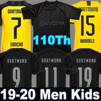 futbol kaleci takımları toptan satış-19 20 BVB Borussia Dortmund futbol forması 2019 2020 üst tayland dortmund soccer jersey SANCHO REUS TEHLİKE BRANDT HUMMELLER SCHULZ PACO ALCACER
