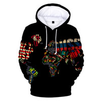 Wholesale sections sweatshirt hoodies resale online - 2019 New D print National plate and country section Hooded sweatshirt Men Women Casual Hip hop Hoodies Clothes
