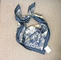 ingrosso borse animali-La più nuova borsa delle donne della borsa del progettista sciarpa Fascia di lusso 100% seta 2019 Animali da disegno Fasce per capelli Maniche Avvolge sciarpe Collo Grandi scialli Hot