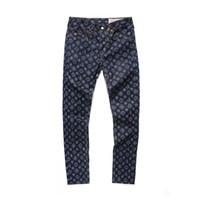 männer kurze hosen trend großhandel-Männer Sommer kurze Hosen Track Sweat Hose Männer gerade Jeans Edison Trend Trend Hip-Hop-Abzeichen Buchstaben große M Jeans