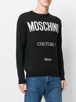 tasarımcılar kadın giyim toptan satış-Tasarımcı Hoodie Moda Marka Kazak Mektupları Womens Kazak Uzun Kollu Pullover Casual Üstler Artı boyutu Giyim S-XXL Tops