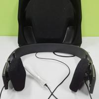 mikrofonları çal toptan satış-2019 Oyun Formu Ile 2i Kablolu Kulaklıklar Mikrofon Kulaklıklar DJ HIFI Kutusu Ile Iyi Ses Kulaklık