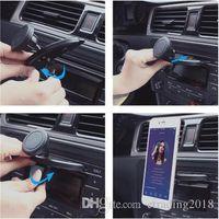 cep telefonları için araba beşiği toptan satış-360º Evrensel Araba CD Dash Yuvası Manyetik Dağı Tutucu Mobil Akıllı Telefon Cradle