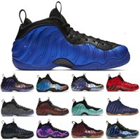 Wholesale air penny shoes for sale - Group buy TOP Penny Hardaway men basketball shoes air foamposite one Vandalized Paranorman Obsidian Olympic mens trainers Sports Sneakers
