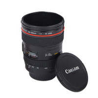 Wholesale novelty gift mugs resale online - Camera Lens Coffee Mug Canons Cup Generation Of Len Mugs For Canon Fans Photography Novelty Gifts EEA1227
