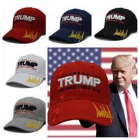 104a43f0962 MAKE AMERICA GREAT AGAIN Print Trucker Caps Donald Trump Men Women High  Quality Flat Snapback Hats Baseball President Cap KKA6344