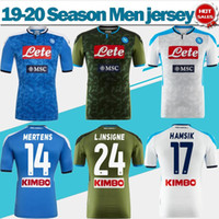 Wholesale jersey naples for sale - Group buy 2020 Napoli Home Blue Soccer Jersey Naples Away green Soccer Shirt MERTENS HAMSIK INSIGNE rd Football Uniforms