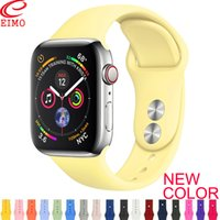 Wholesale hidden watches for sale - Group buy Strap For Apple Watch band mm mm iWatch band mm mm Sport Silicone belt Bracelet correa Apple watch Accessories