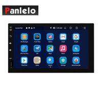 navigation stéréo automatique d'écran tactile de pouce achat en gros de-Panlelo S13 Android 8.0 voiture stéréo Octa Core 4 Go de RAM 32 Go de ROM AV sortie GPS Navigation 2 Din 7 pouces Auto Radio 1080P Écran tactile