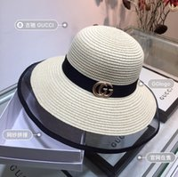 Wholesale american wide brim hat for sale - Group buy first rate New European And American Fashion Straw Hat Hollowed out Brim Socialite Temperament Style Sunshade Beach Necessary