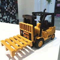 Wholesale toys for children trucks for sale - Group buy Simulation FORKLIFT TRUCK RC REMOTE CONTROL PRESENT TOYS CHRISTMAS GIFT For Children Boys g4