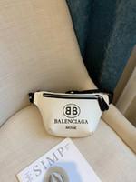 caixa masculina venda por atacado-2019 NOVA Alta Qualidade Dos Homens Hip Bum Fanny Pack Bolsa De Dinheiro Multi-Bolso Nova Moda Sling Crossbody Pacote Peito Masculino Cinto Sacos De Mensageiro