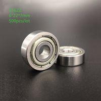 ingrosso cuscinetti a sfere-500 pezzi 636ZZ 636-ZZ 636 ZZ 6 * 22 * 7mm cuscinetti radiali a sfere mini cuscinetti a sfera 6x22x7mm