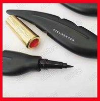 fazendo design caneta venda por atacado-2019 Hot M Marca de Maquiagem Dos Olhos Design de Penas Líquido de Longa Duração Suave Make Up Eye Liner Caneta Delineador Cosméticos