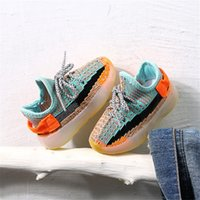 Wholesale red children shoes breathable resale online - DIMI Spring Baby Soft Toddler Shoes Breathable Knitting Infant Shoes Year Boy Girl Darling Coconut Child Sneakers