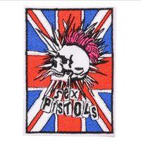 секси пальто оптовых-Sex Pistols утюг на вышитые мультфильм патч рубашка дети подарок детская рубашка сумка брюки пальто украсить