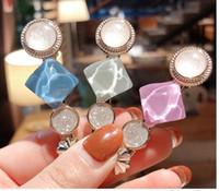 perle d'or cheveux achat en gros de-1 pcs Femmes Perle Brillant Cheveux Clip Or Épingle À Cheveux Chapeaux pour Femmes Slide Poignées Barrette épingle à cheveux Cheveux Accessoires pour filles