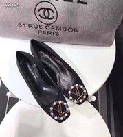 arbeit müßiggänger großhandel-Frauen Ballett Wedges Schuh Weibliche für Arbeits Tuch Schuhe Frauen Süße Müßiggänger Slip On Damen Wedges Schuhe Oversize Neue Bootsschuhe