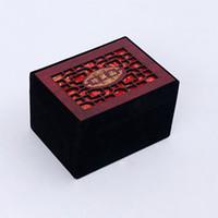 китайские кольца браслеты оптовых-Chinese Retro Hollow Jewelry Box For Bracelet Necklace Ring Earrings Gift Boxe Set Display Packaging Custom Pendant Carring Case