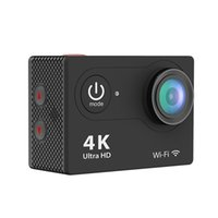 caméra vidéo résistant à l'eau hd achat en gros de-H9 Ultra HD 4K WiFi 2.0 pouces caméra d'action de sport sans fil WiFi étanche 900mAh