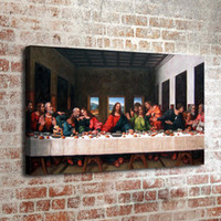Wholesale modern nude oils resale online - The Last Supper Home Decor HD Printed Modern Art Painting on Canvas Unframed Framed