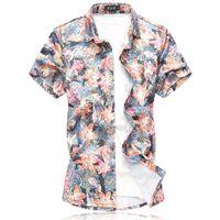 ropa de viento de verano al por mayor-Diseñador para hombre camisetas camiseta ropa blanca camisetas viento XL para hombre verano camisa de algodón mercerizado manga corta tamaño 6xl