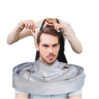 barbeiro venda por atacado-60 cm À Prova D 'Água Adulto Corte De Cabelo Manto Guarda-chuva Cape Salon Cabeleireiro Cabeleireiro Home Estilistas Usando Capes Roupas RRA1375