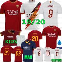Wholesale totti roma jersey for sale - Group buy Thai PEROTTI DZEKO PASTORE ZANIOLO Soccer Jerseys Roma TOTTI Football Kit Shirt DE ROSSI Maillot De Foot Custom