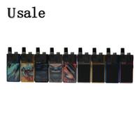 17 caja original al por mayor-Lost Vape Orion Q Pod Kit con batería de 950 mAh Caja de 17 W Mod con cartucho recargable de 2 ml Tanque Kits de inicio de Vape Lostvape 100% original