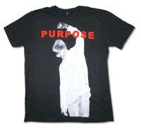 gömlekler yeni stiller resimler toptan satış-Justin Bieber Negatif Resim Görüntü Amaçlı Siyah T Gömlek Yeni Resmi Yumuşak Baskılı T Gömlek Erkekler Pamuk T-Shirt Yeni Stil