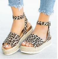 Wholesale flat platform flip flops resale online - High Heels Sandals Summer Shoes Flip Flop Chaussures Femme Platform Sandals