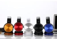kafa bandı kulaklık seti mikrofonu toptan satış-Box PC Smartphone MP3 Mic ile 2019 Kablosuz Kulaklık Bluetooth Kulaklık Müzik Çalar Çekilebilir Kafa Surround Stereo Kulaklık