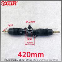 Wholesale gears racks for sale - Group buy 420mm Power Steering Gear Shaft Rack Pinion Assembly For DIY China Go Kart Buggy Karting ATV UTV Bike Parts