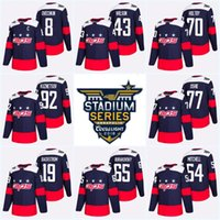 5028b4d02 2018 Stadium Series Washington Capitals Tom Wilson Alex Ovechkin T.J. Oshie  Nicklas Backstrom Evgeny Kuznetsov Braden Holtby Hockey Jersey
