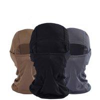 ingrosso nuovi tessuti per la faccia-2019 Nuovo arrivato Fashion Mask per Face sport esterni Copricapo sciarpa calda ad asciugatura rapida tessuto Cappello tattico Mask Mar