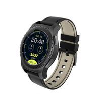 электронная почта google android оптовых-Android 7.0 Smart Watch 1GB + 16GB Bluetooth 4.0 WIFI 3G Smartwatch мужские наручные часы поддержка голосовых GPS-карт Google store