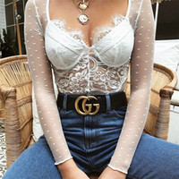 fotos oficiales 0976f e871f Wholesale dress black sexy lace jumpsuits - Group Buy Cheap ...